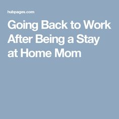 Connecticut moms returning to work